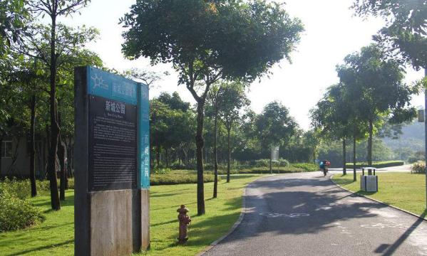 深圳市光明新区新城公园