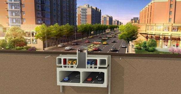 兴隆35路项目部综合管廊