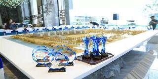 争创标杆,科顺股份荣获中海地产广州公司A级优秀合作商荣誉
